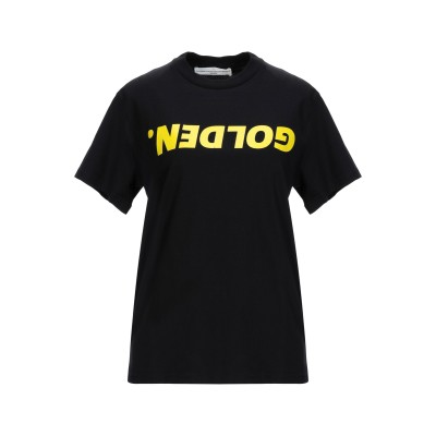 ゴールデン グース GOLDEN GOOSE DELUXE BRAND T シャツ ブラック S コットン 100% T シャツ