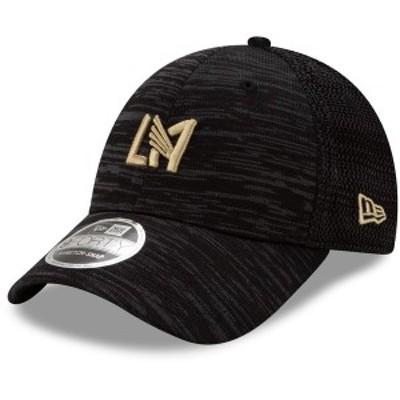 ニューエラ メンズ 帽子 アクセサリー LAFC New Era On-Field Collection 9FORTY Stretch Adjustable Snapback Hat Black
