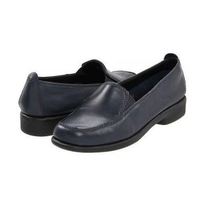 Hush Puppies ハッシュパピーズ レディース 女性用 シューズ 靴 ローファー ボートシューズ Heaven - Navy Leather