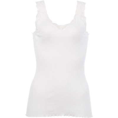 [セシール] キャミソール(贅沢レースにやわらかな着心地の綿100% リブインナー) UE-1071 ホワイト 日本 LL (日本サイズ2L相当) レ