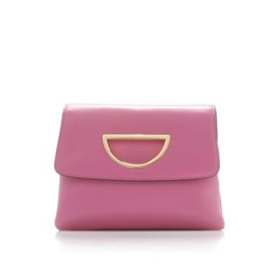 【サマンサタバサ】 VioletD(バイオレットD)チェーン付きクラッチバッグ新色 レディース ピンク FREE Samantha Thavasa