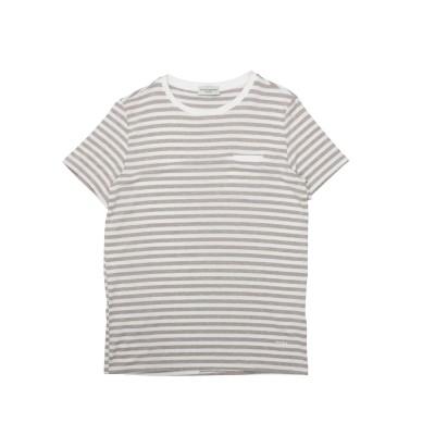 パオロ ペコラ PAOLO PECORA T シャツ ライトブラウン 10 レーヨン 95% / ポリウレタン 5% T シャツ