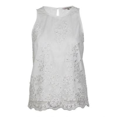 レディース 衣類 トップス Darling Womens Lace Applique Top ブラウス&シャツ