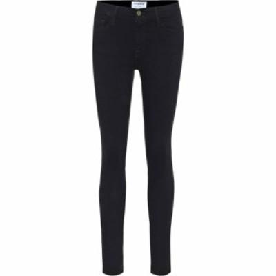 フレーム Frame レディース ジーンズ・デニム ボトムス・パンツ le color mid-rise skinny jeans Film Noir