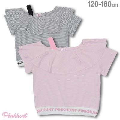 30%OFF SALE  ベビードール BABYDOLL 子供服 PINKHUNT PH Tシャツ ボーダー 4171K キッズ ジュニア 女の子
