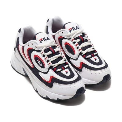 スニーカー FILA VOLANTE 98 (WHITE/NAVY/RED)【SP】