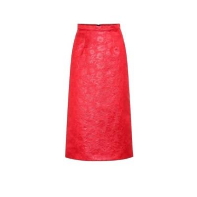 マルニ Marni レディース ひざ丈スカート ペンシルスカート スカート duchesse jacquard pencil skirt
