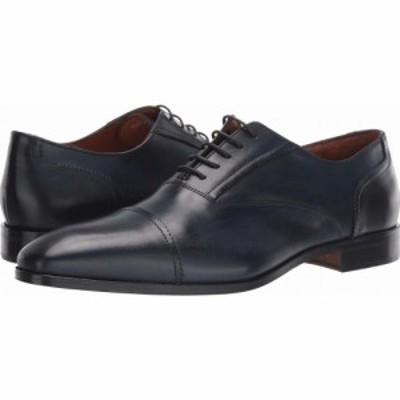 マッテオ マッシモ Massimo Matteo メンズ 革靴・ビジネスシューズ シューズ・靴 Dante Cap Toe Bal Navy