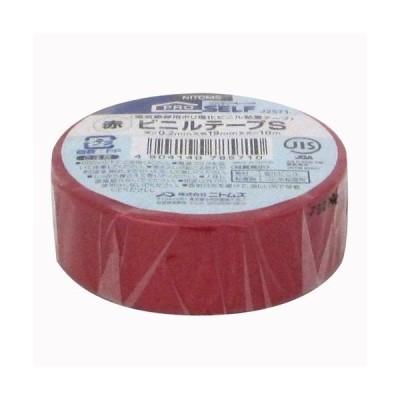 ニトムズ ビニールテープS/J2571 赤