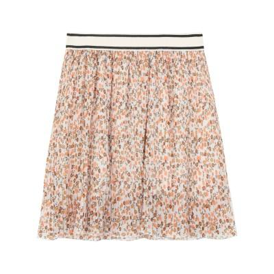 MICHELA MII ミニスカート ブラウン one size ポリエステル 80% / レーヨン 18% / ポリウレタン 2% ミニスカート