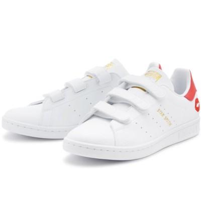 アディダス スタンスミス CF W adidas STAN SMITH CF W フットウェアホワイト/フットウェアホワイト/レッド S42845 アディダスジャパン正規品