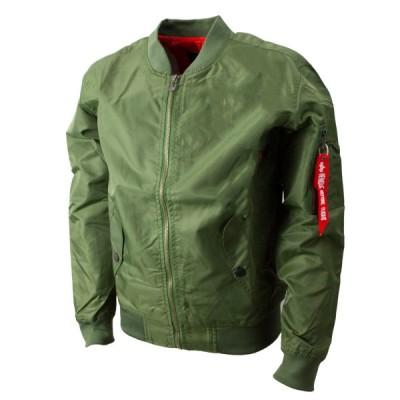 薄手  MA-1 春夏秋用  フライトジャケット アーミーグリーン 1025