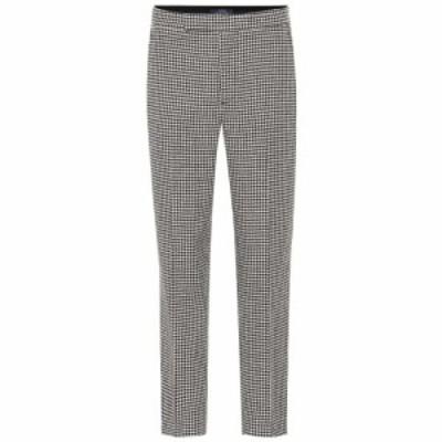 ラルフ ローレン Polo Ralph Lauren レディース ボトムス・パンツ Checked wool-blend pants black white houndstooth