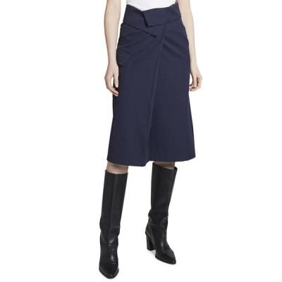ケンゾー レディース スカート ボトムス Wrap-Front Knee-Length Skirt