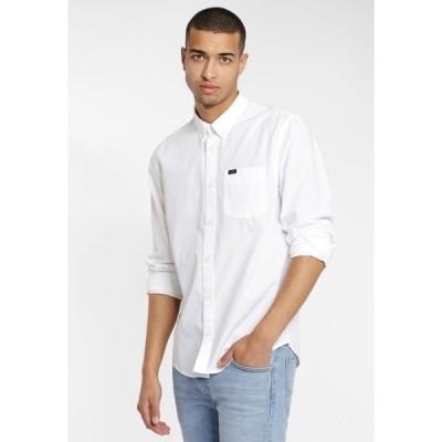 リー シャツ メンズ トップス Shirt - white