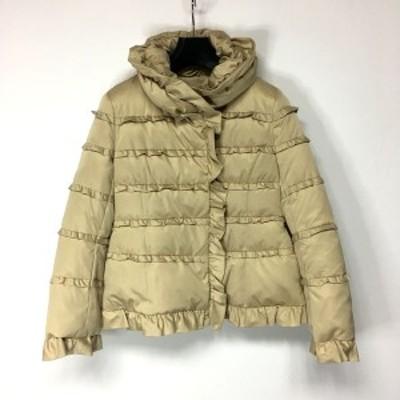 トゥービーシック TO BE CHIC ダウンジャケット サイズ40 M レディース 美品 - ベージュ 長袖/冬【中古】20210306