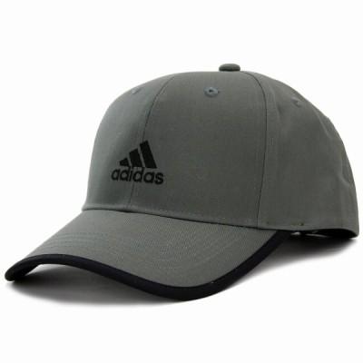 アディダス キャップ ランニング adidas 帽子 大きいサイズ ツイル 野球帽 スポーツ cap グレー