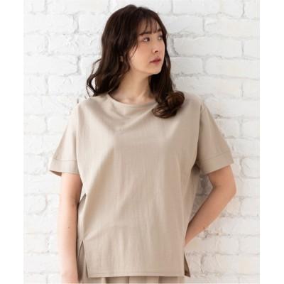 ADMIX-Japan/JETSET SOLO PLUS / 【接触冷感】スリットデザイントップス WOMEN トップス > Tシャツ/カットソー