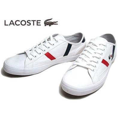 ラコステ LACOSTE CMA045L SIDELINE TRI 2 ホワイトネイビーレッド メンズ 靴