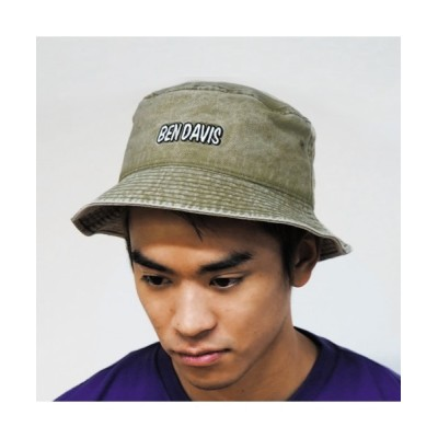 BENCH AT THE GREENE / LOGO BUCKET HAT WOMEN 帽子 > ハット