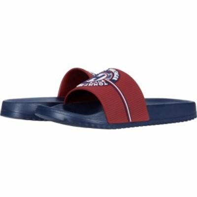トミー ヒルフィガー Tommy Hilfiger メンズ サンダル シューズ・靴 Rowdy Dark Red