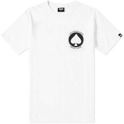 バウンティーハンター Bounty Hunter メンズ Tシャツ トップス Spade Tee White