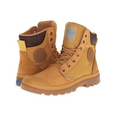 パラディウム Pampa Sport Cuff WPN メンズ Hiking Amber Gold/Mid Gum
