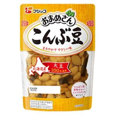 フジッコ おまめさん こんぶ豆 155g まとめ買い(×10)