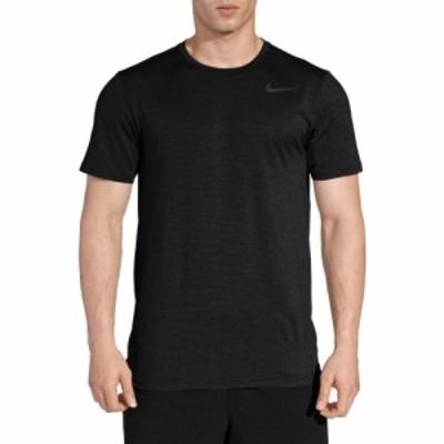 ナイキ Nike メンズ ラクロス ドライフィット トップス Dri-FIT Utility Static Training Tee Black/Mtlc Hematite
