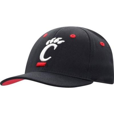 トップオブザワールド メンズ 帽子 アクセサリー Top of the World Infant Cincinnati Bearcats The Cub Fitted Black Hat