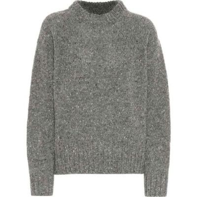 ジョゼフ Joseph レディース ニット・セーター トップス wool sweater Grey Chine