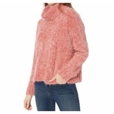 BB Dakota BB ダコタ ファッション トップス Jack by BB Dakota NEW Pink Womens Size Medium M Turtleneck Sweater