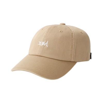 X-girl / OUTLINE MILLS LOGO CAP WOMEN 帽子 > キャップ