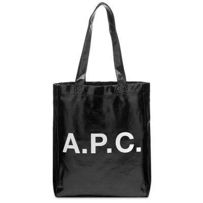 アーペーセー A.P.C. メンズ トートバッグ バッグ Lou Metallic Tote Black