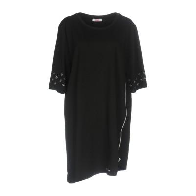 ブルーガール ブルマリン BLUGIRL BLUMARINE ミニワンピース&ドレス ブラック 38 95% コットン 5% ポリウレタン ミニワン