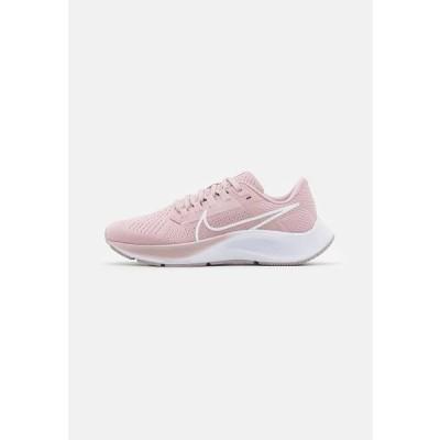 ナイキ レディース スポーツ用品 AIR ZOOM PEGASUS 38 - Neutral running shoes - champagne/white/barely rose/arctic pink