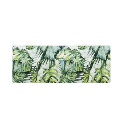ヨコズナクリエーション PVCキッチンマット ジャングル/45×120