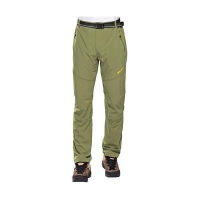 FLYGAGA トレッキングパンツ メンズ クライミングパンツ アウトドアズボン 登山ズボン ロングパンツ アウトドアウェア ズボン パンツ