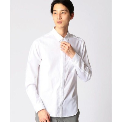 COMME CA MEN/コムサ・メン ショートポイントホワイトシャツ その他1 L