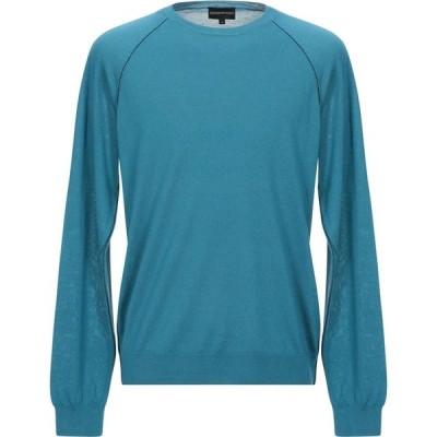 アルマーニ EMPORIO ARMANI メンズ ニット・セーター トップス sweater Deep jade