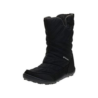 Columbia Women's Minx Slip III Mid Calf Boot, Black, Steam, 8 Regular USインポート 送料無料