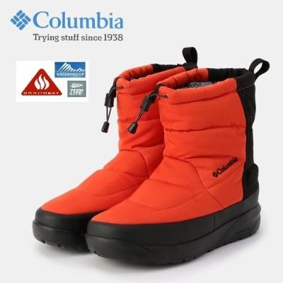 コロンビア 撥水 防寒 スノーブーツ YU0337 スピンリールブーツ2 ウォータープルーフ columbia SPINREEL BOOT2 waterproof omniheat Autumn Orange オレンジ