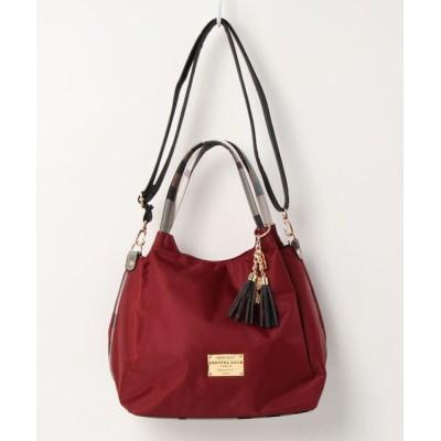 CRYSTAL BALL / CHECK Handle shoulder bag WOMEN バッグ > ハンドバッグ