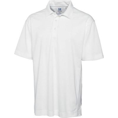 カッター&バック Cutter & Buck メンズ ポロシャツ トップス Genre Polo White