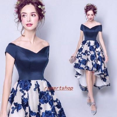 パーティードレスイブニングドレスミニドレスウエディングドレス編み上げタイプ二次会忘年会花嫁パーティードレス
