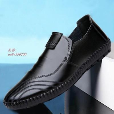 カジュアルシューズ メンズ靴 シューズ 靴 紳士 スニーカー メンズ コンフォート 定番 カジュアル ローファー 男性用 ビジネス PUレザー