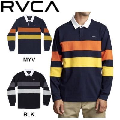 ルーカ RVCA メンズ JOHNSY LS POLO ポロシャツ ロングスリーブ 長袖 アウトドア スケートボード サーフィン