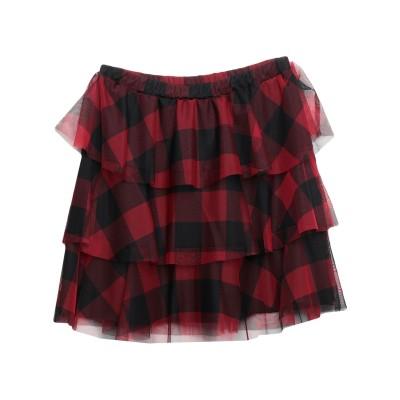 カオス KAOS ひざ丈スカート レッド 44 ポリエステル 100% ひざ丈スカート