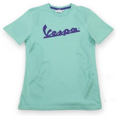 ベスパ オフィシャルキッズロゴTシャツ(グリーン)
