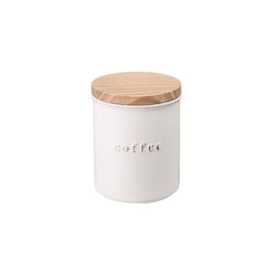 陶器キャニスター トスカ コーヒー ホワイト 3428 tosca[01]